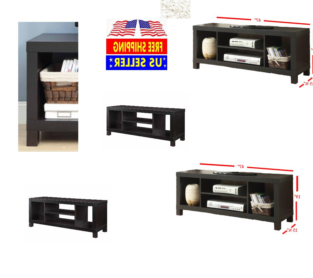 Home Entertainment Center Storage Stand Console Furniture