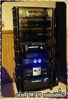 Home Theater AV Equipment Tower Rack Audio Stereo TV Stand G