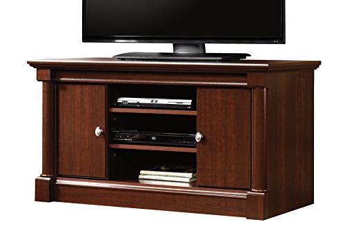 Sauder Palladia TV Stand, For Cherry finish