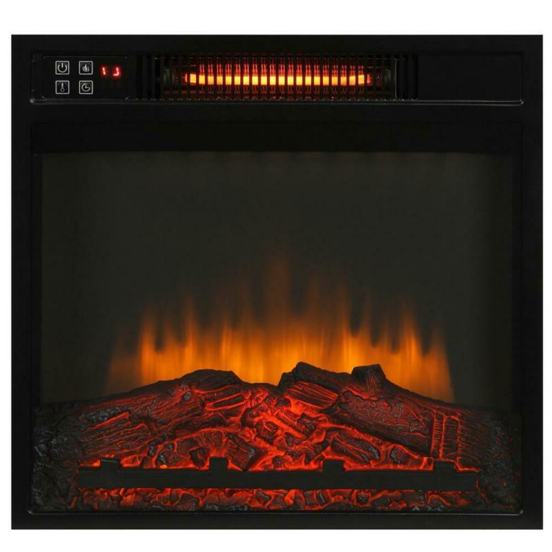 Infrared Electric Fireplace in Freestand Compact 1000 Stand