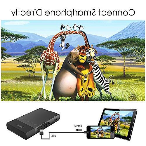 DLP iPhone, ELEPHAS Lumen Support 480P TF