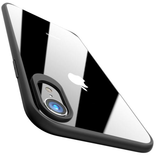 TOZO for iPhone XR Case Hybrid Soft Grip Matte Finish Frame