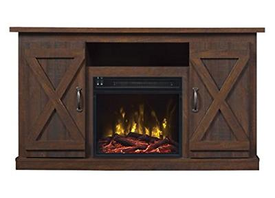 Comfort Smart Killian Electric Fireplace TV Stand, Espresso