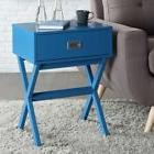 Convenience Concepts Landon End Table, Blue