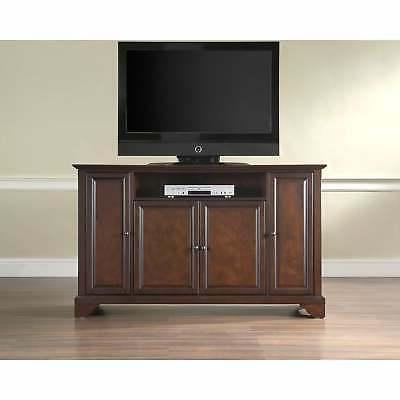 Layfayette Brown Wood 60-inch TV Stand Brown Traditional