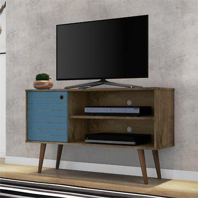 Manhattan TV in Brown and Blue