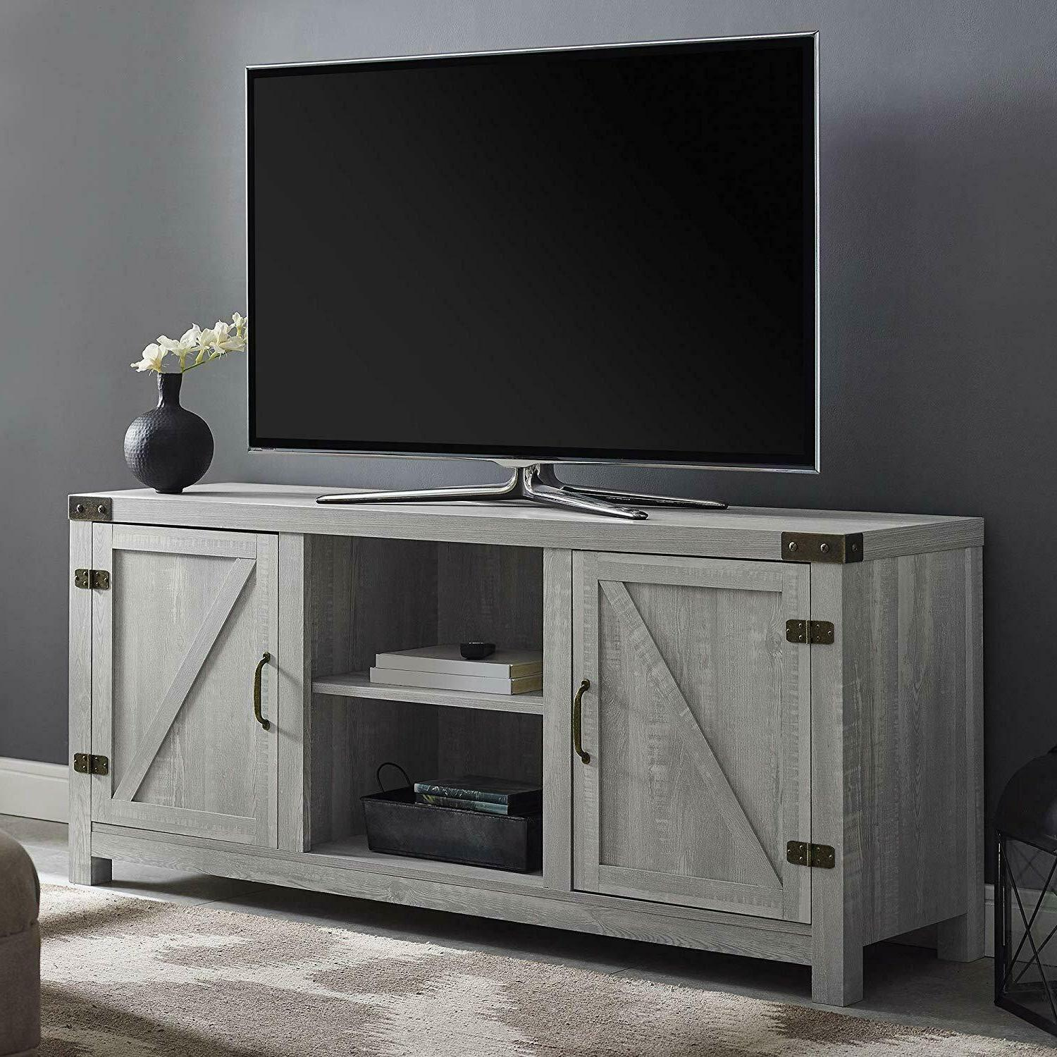 Living Room Furniture Tv For Bedroom Home Office Stand Wood