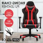 Merax Office Desk PU Leather Executive Racing Gaming Chair C