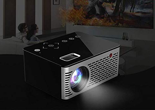 Mini 1080P HD LED 3D Home USB VGA HDMI