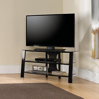 mirage tv stand black frame