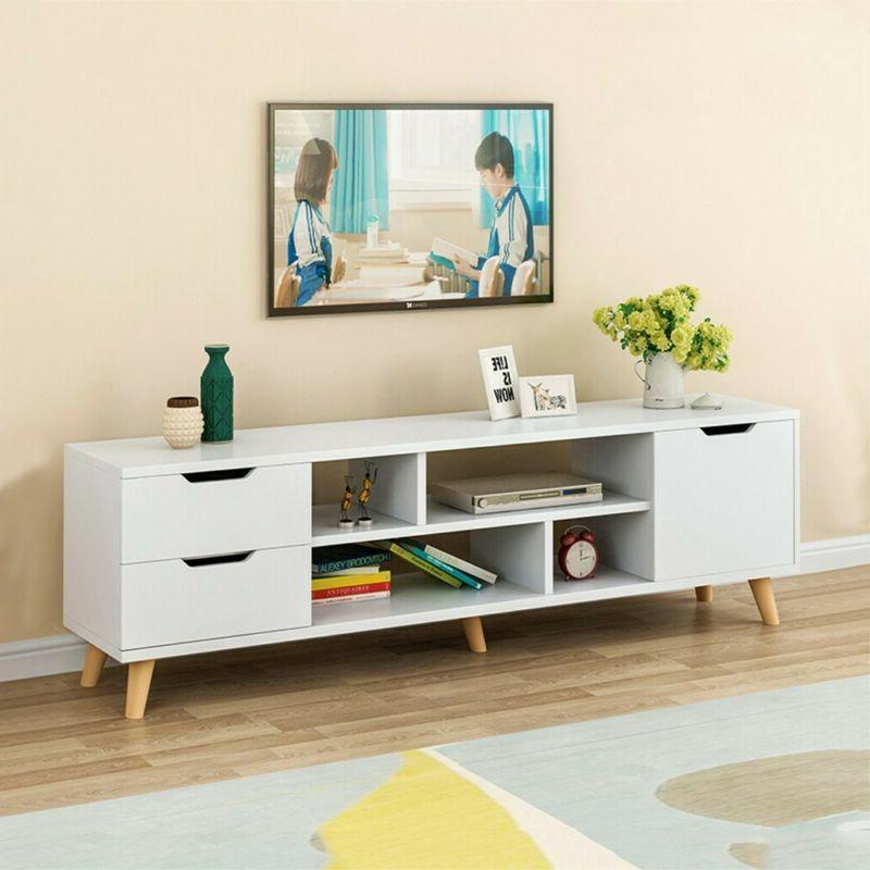 tv stand entertainment center console media storage