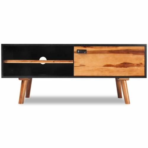 Modern TV Television Stand Solid Wood