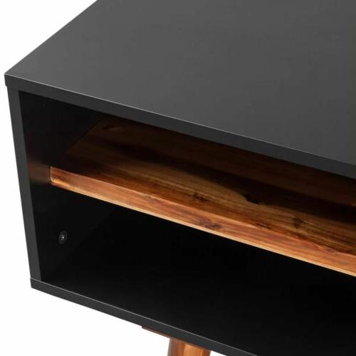 Modern Television Stand Solid Wood