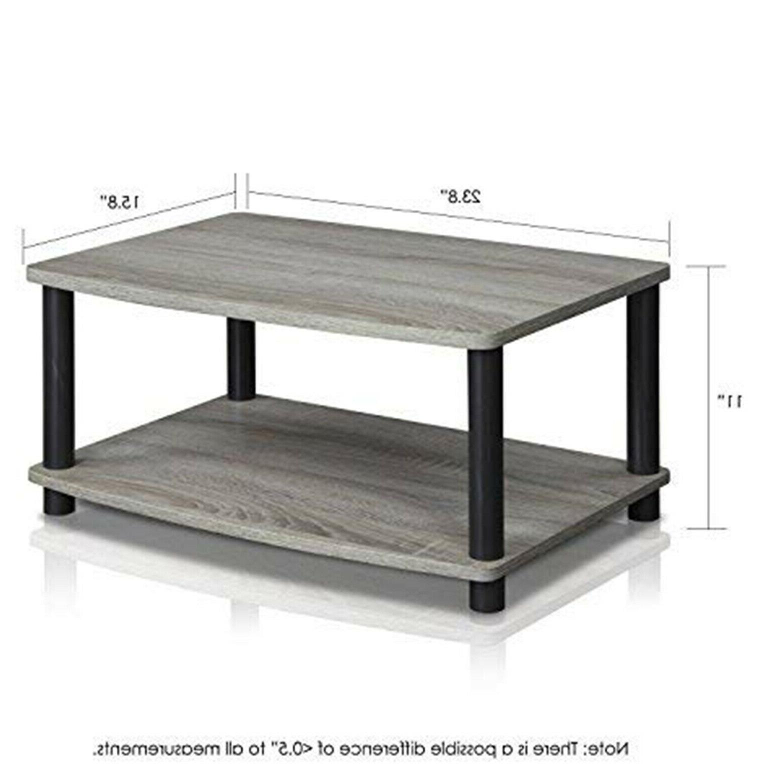 Modern TV Stands Small Storage Stand Table 2-Tier