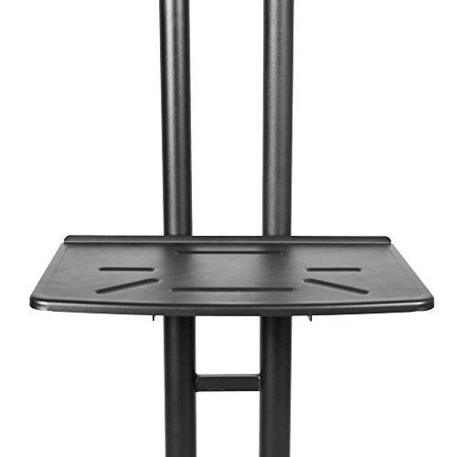Kanto Mobile TV Cart - Black