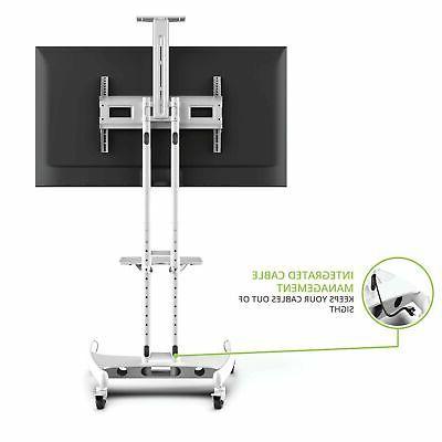Kanto Height Mobile TV Adjustable