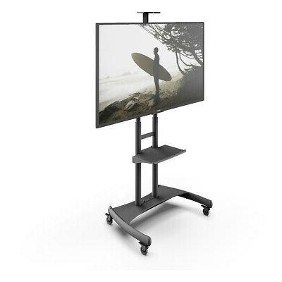 Kanto Mobile Mount with Adjustable Shelf for