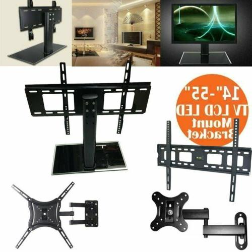 "NEW 14""-55"" Universal TV Stand/Base LCD/LED/Plasma TVs Table"