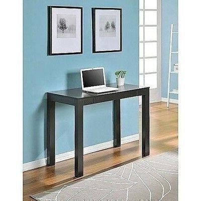 NEW White Gray Espresso Parsons Furniture Writing Laptop