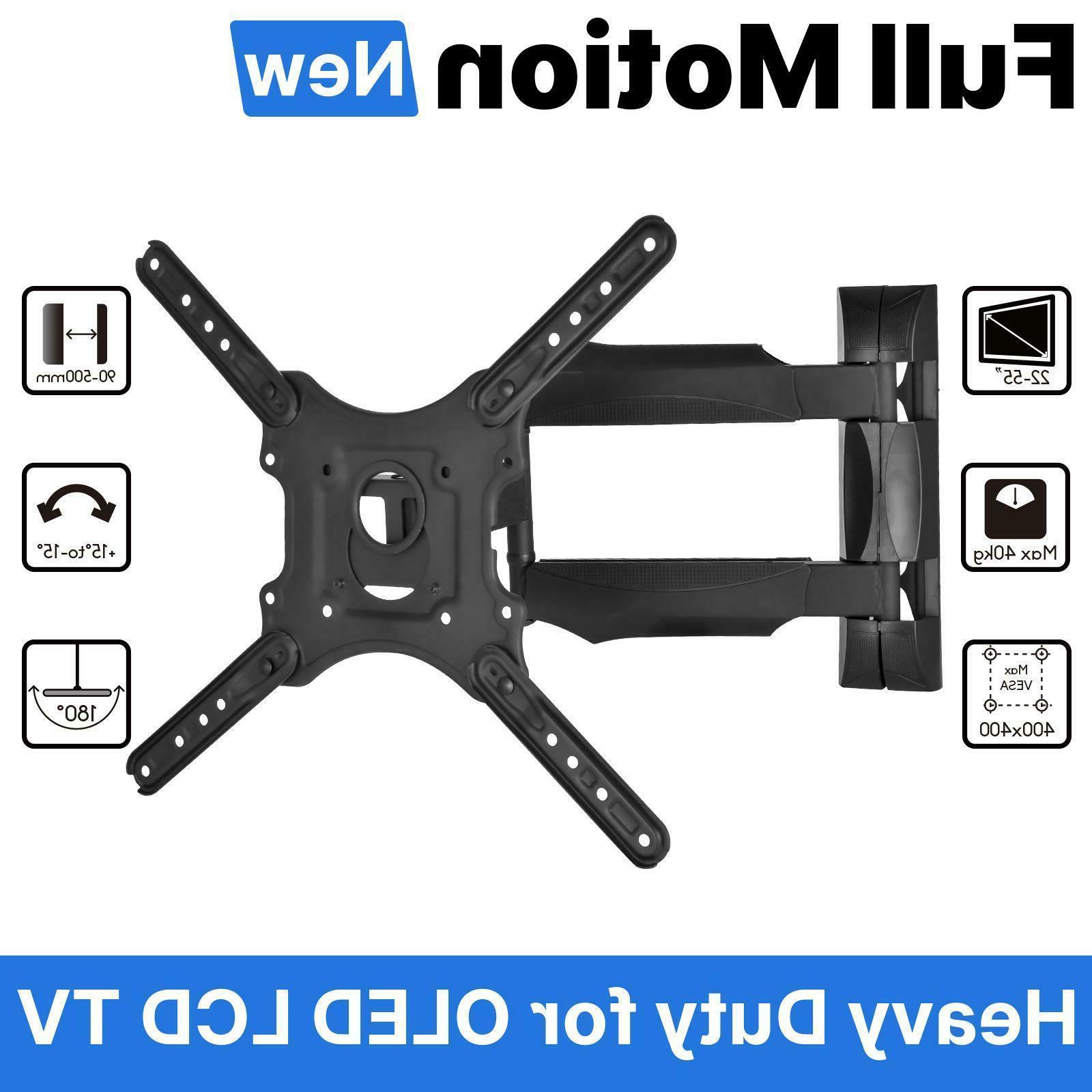 new full motion tv mount rack foldable