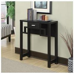 Convenience Concepts Newport Laurel Console Table Espresso