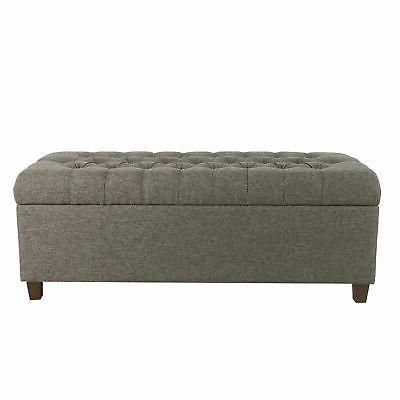 noelle upholstered storage bench