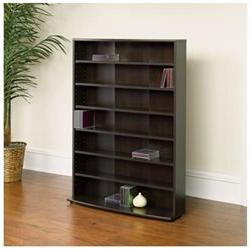 O'Sullivan Multimedia Storage Tower in Cinnamon Cherry
