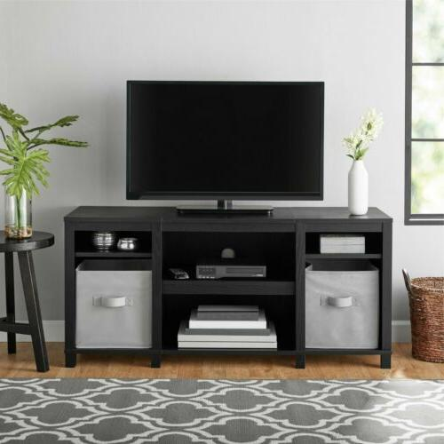 """Mainstays Parson Cubby TV Stand, for TVs up to 50"""", Multip"""