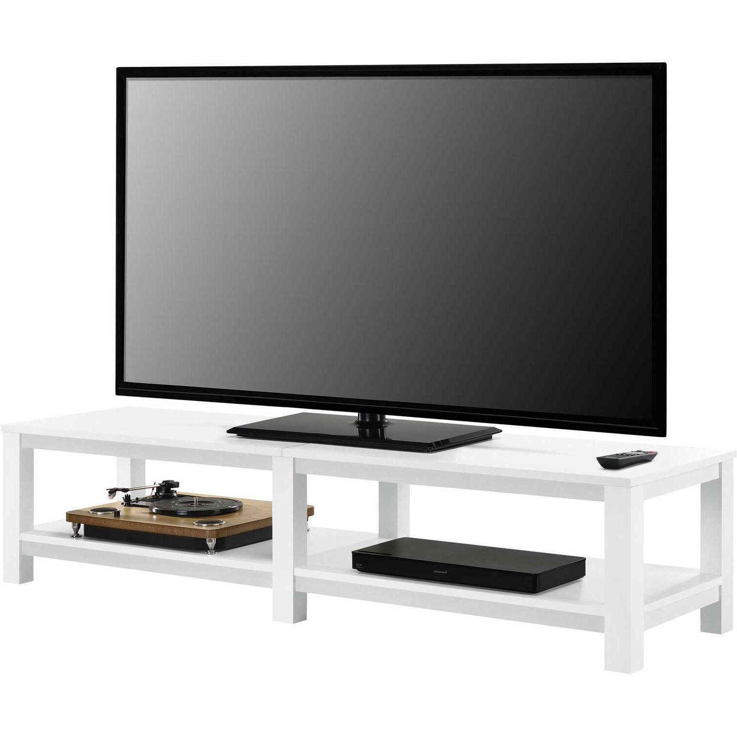 """Mainstays Parsons TV Stand TVs to 65"""", Multiple Colors"""