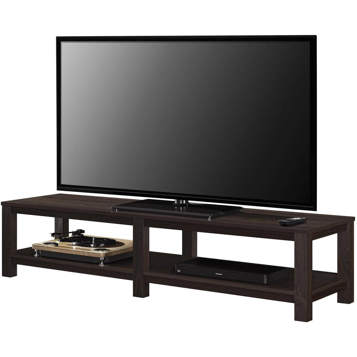 Mainstays Parsons Stand TVs to Multiple