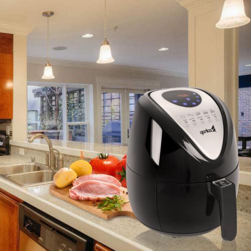 ZOKOP Hot Air Fryer L 3.5L Versatile Food Clip