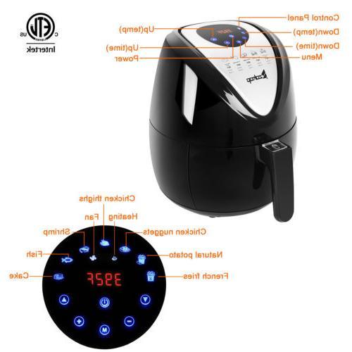 ZOKOP Power Hot Air Fryer L Versatile Deep Food