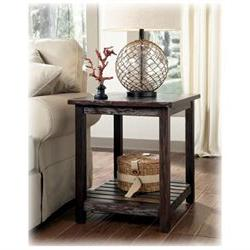 Rectangular End Table in Rustic Brown - Signature Design by