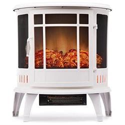 Regal Electric Fireplace - e-Flame USA 25 Inch White Portabl