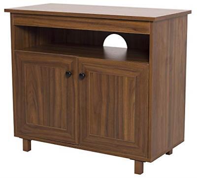 rustic small tv media entertainment storage table