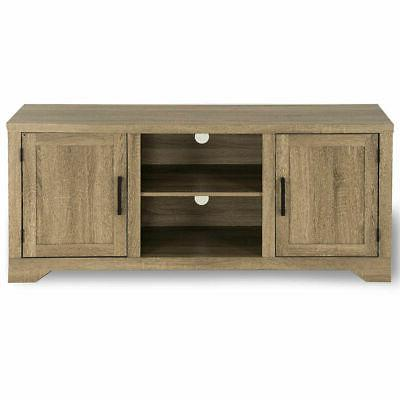 Rustic Center Wood Cabinet