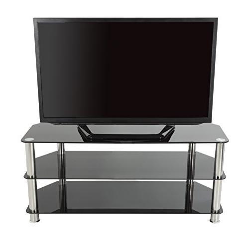 AVF TV for up 50-inch TVs, Black Legs