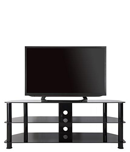 AVF Stand for 39-inch to 60-inch TVs, Black