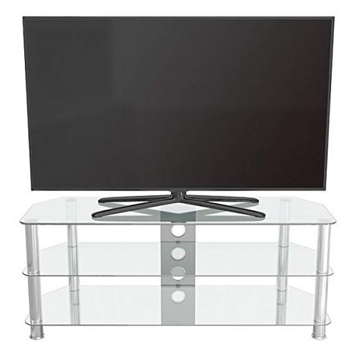 AVF SDC1250CMCC-A Corner TV with Cable Glass, Legs
