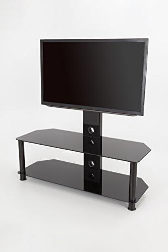 AVF SDCL1140BB-A Stand TV Mount for TVs up to Glass, Legs