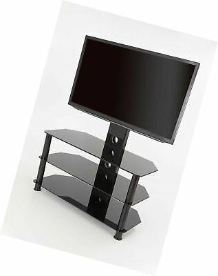 AVF SDCL900BB-A TV up to 60-inch, Black Glass,