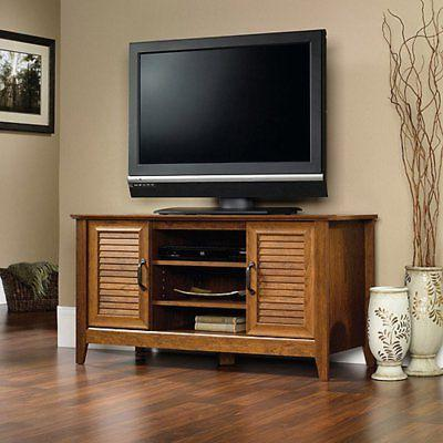 select panel tv stand milled cherry