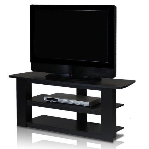Small Stand Media Bedroom Black