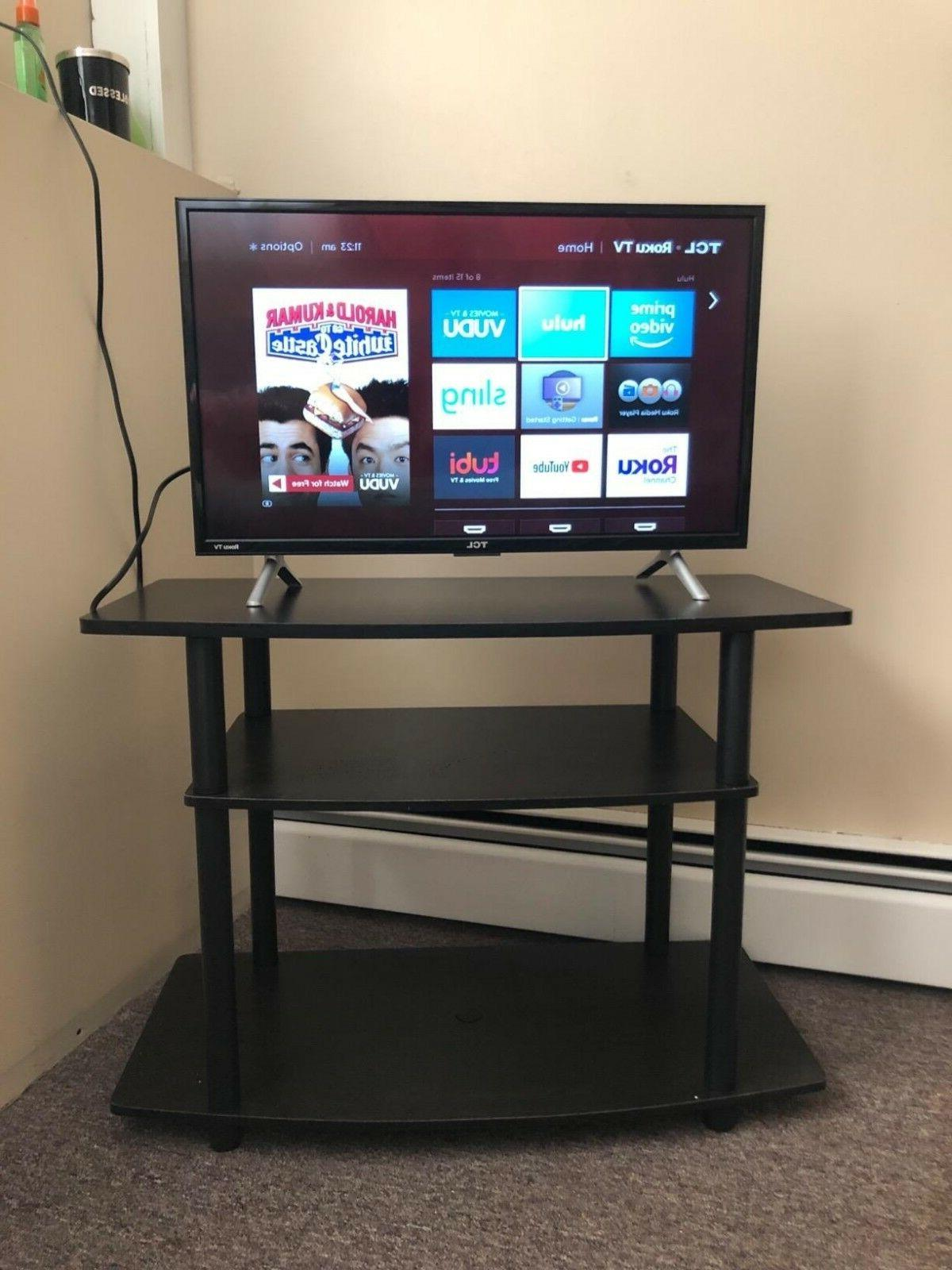 Small Storage Console Entertainment Table For