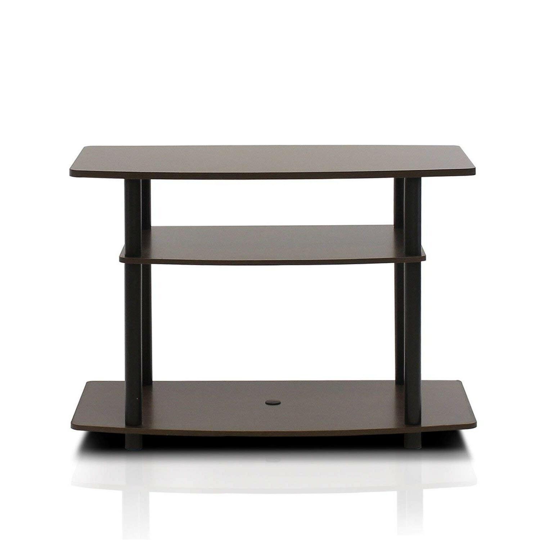 Small Storage Media Table Black