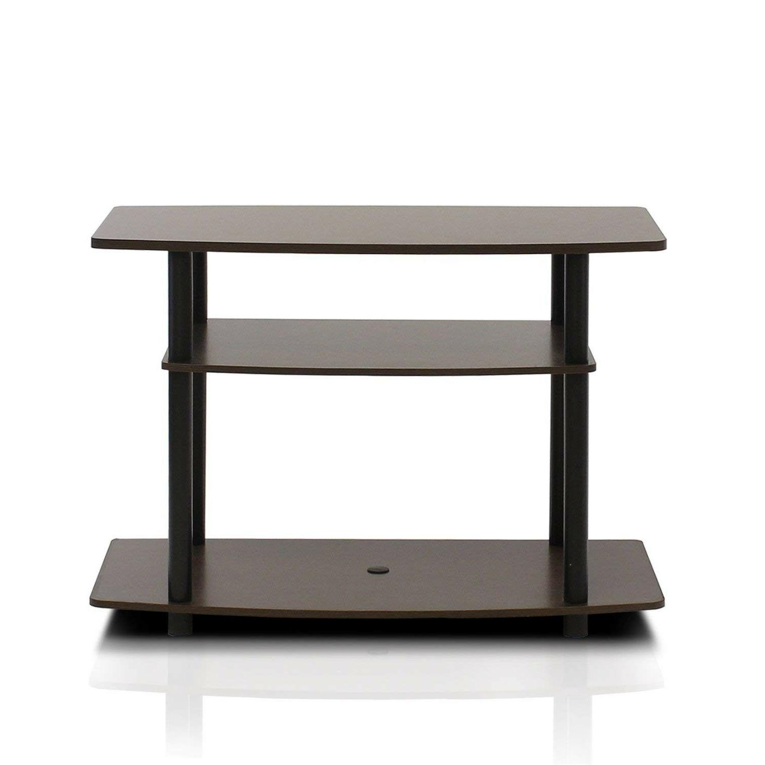 Small Stand Storage Media Console Entertainment Table
