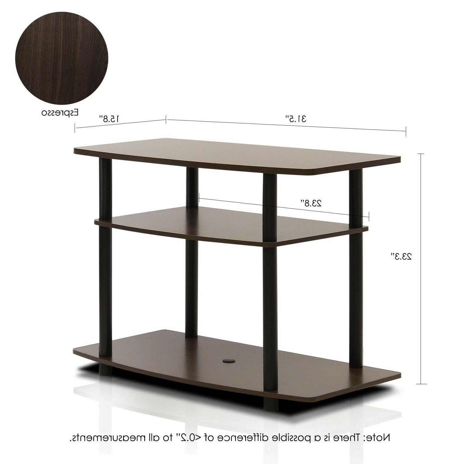 Small Storage Entertainment Table For Bedroom Black