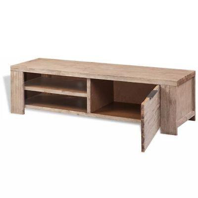 vidaXL Wood Entertainment Unit Center Stand