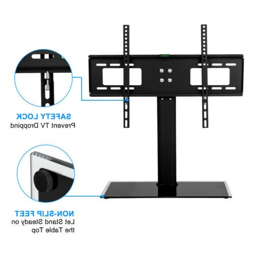 TV Base with Universal Height TVs