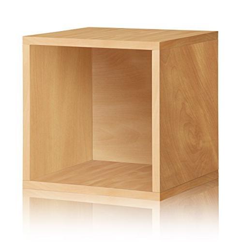 Way Stackable Shelf Natural